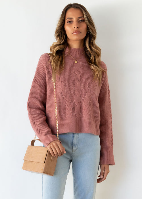 Lowie Sweater - Rose
