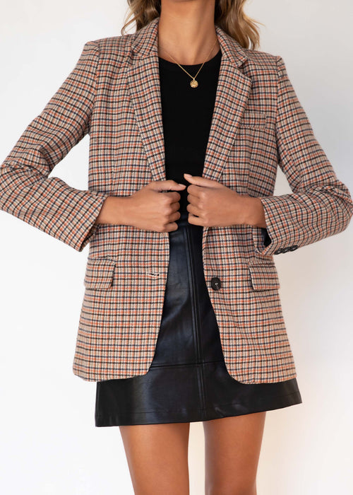 Sterling Blazer - Houndstooth