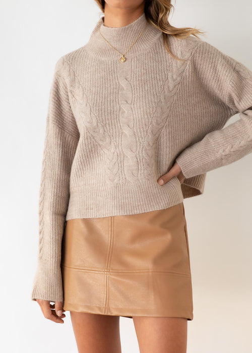 Lowie Sweater - Latte