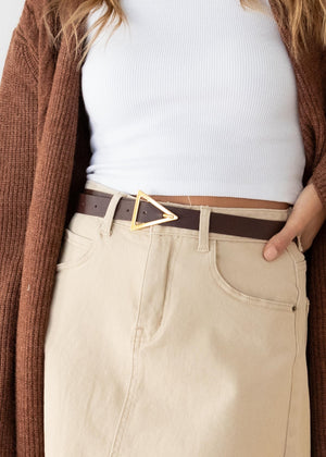 Paces Belt - Chocolate