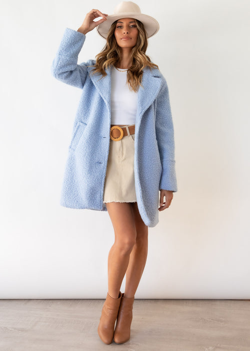 Fleetwood Coat - Powder Blue