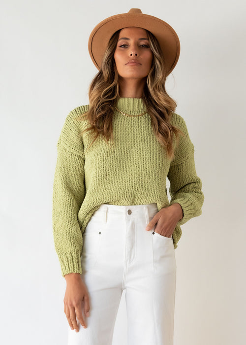Zulu Sweater - Pistachio
