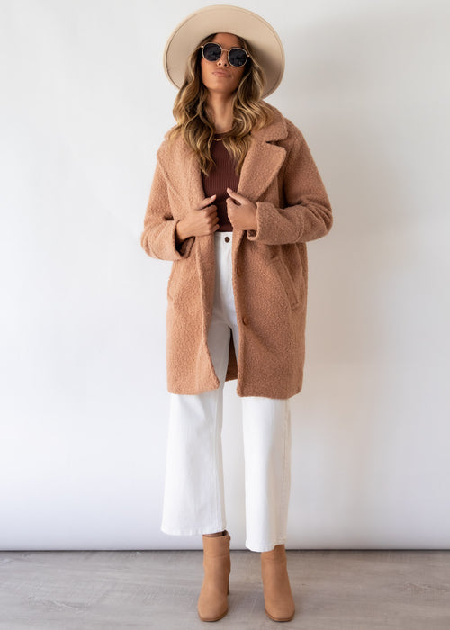 Fleetwood Coat - Camel