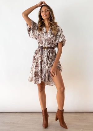 Honey Darling Dress - Mocha