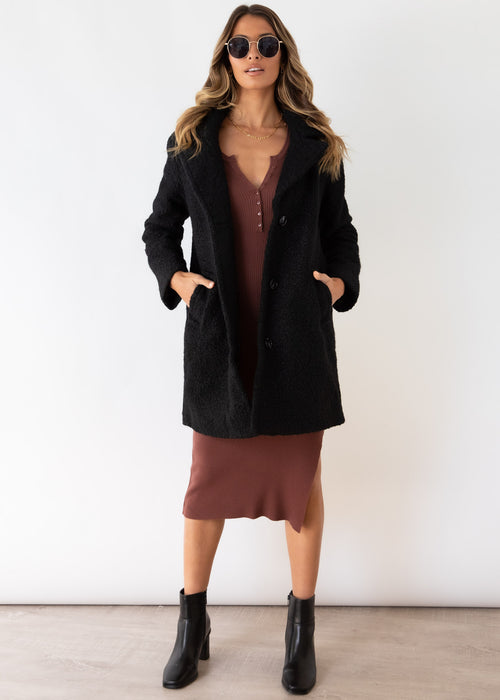 Fleetwood Coat - Black