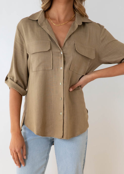 Big Reputation Shirt - Olive
