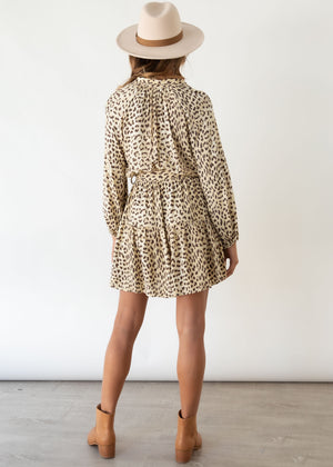 Little Rivers Dress - Alexia Leopard