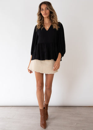 First Move Blouse - Black
