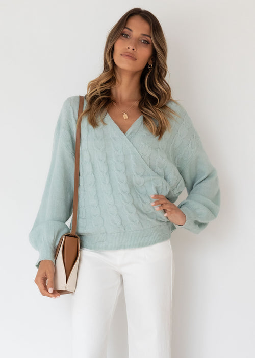 Bambie Sweater - Mint