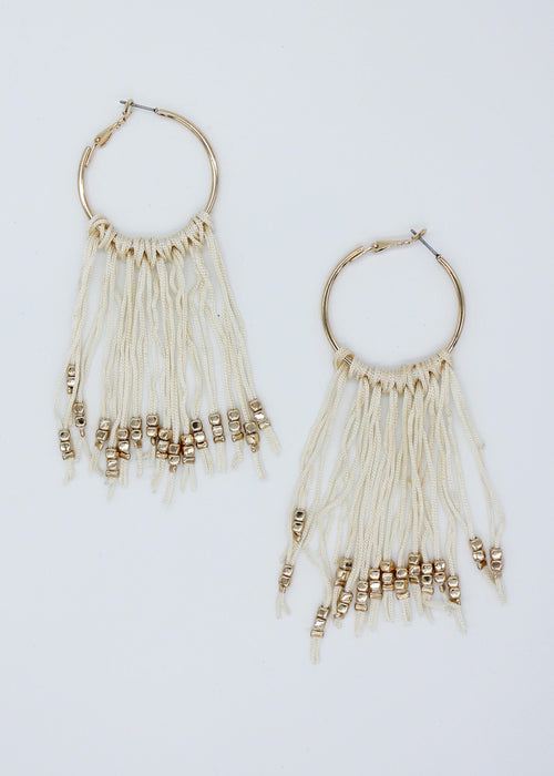 Zariah Earrings - Coconut