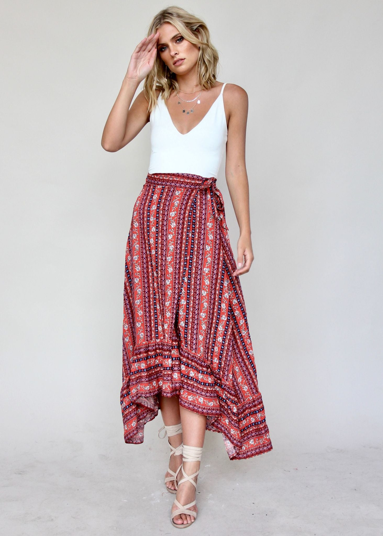 Magic Woman Wrap Skirt - Summer Night