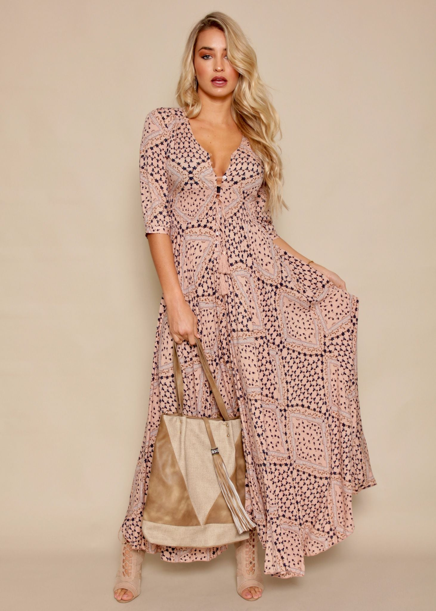New Romantics Maxi - Blush Daisy