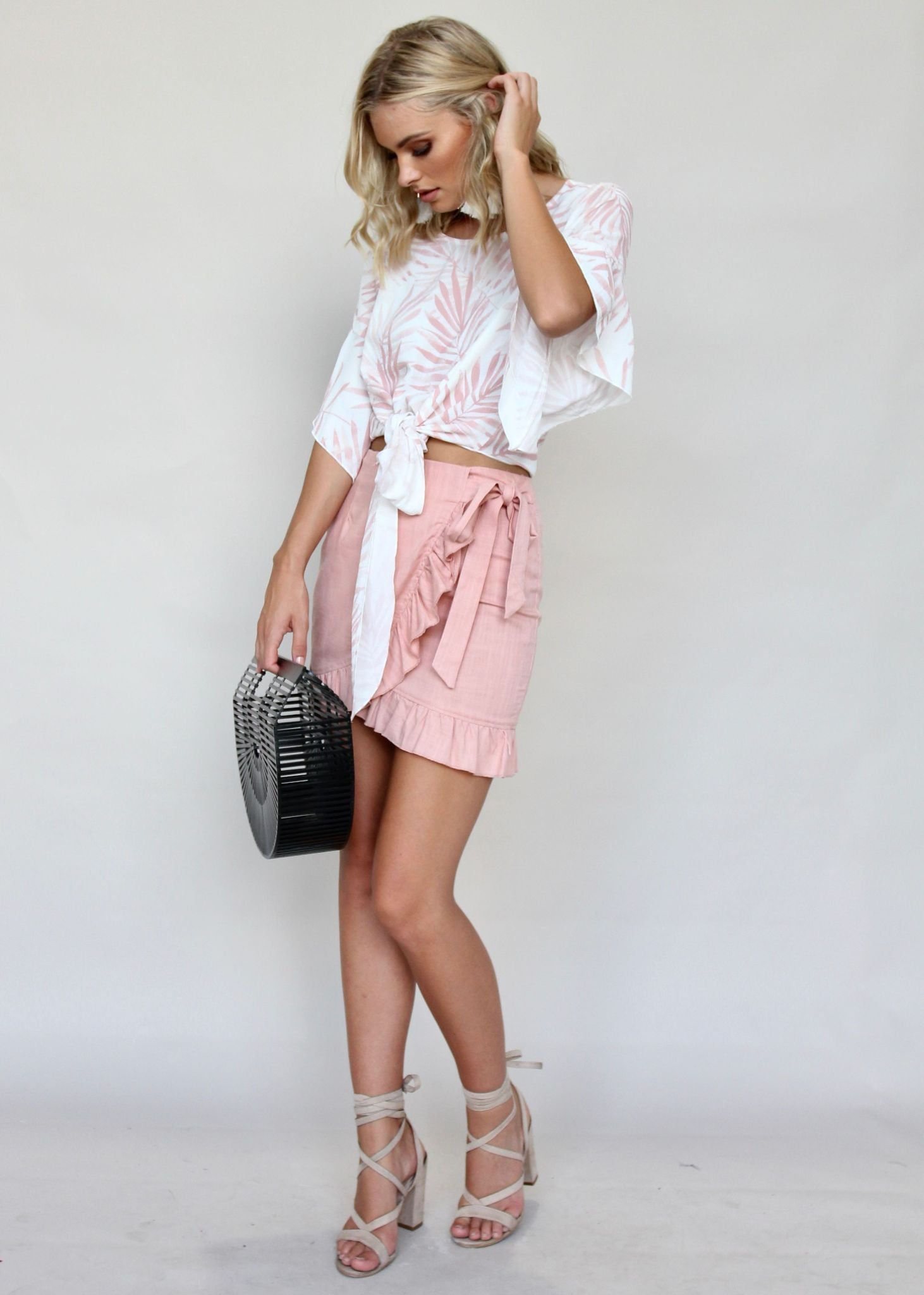 Above All Skirt - Peachy