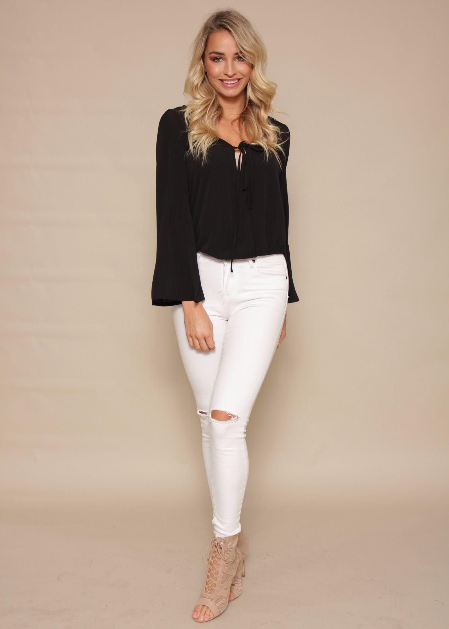 A New Day Blouse - Black
