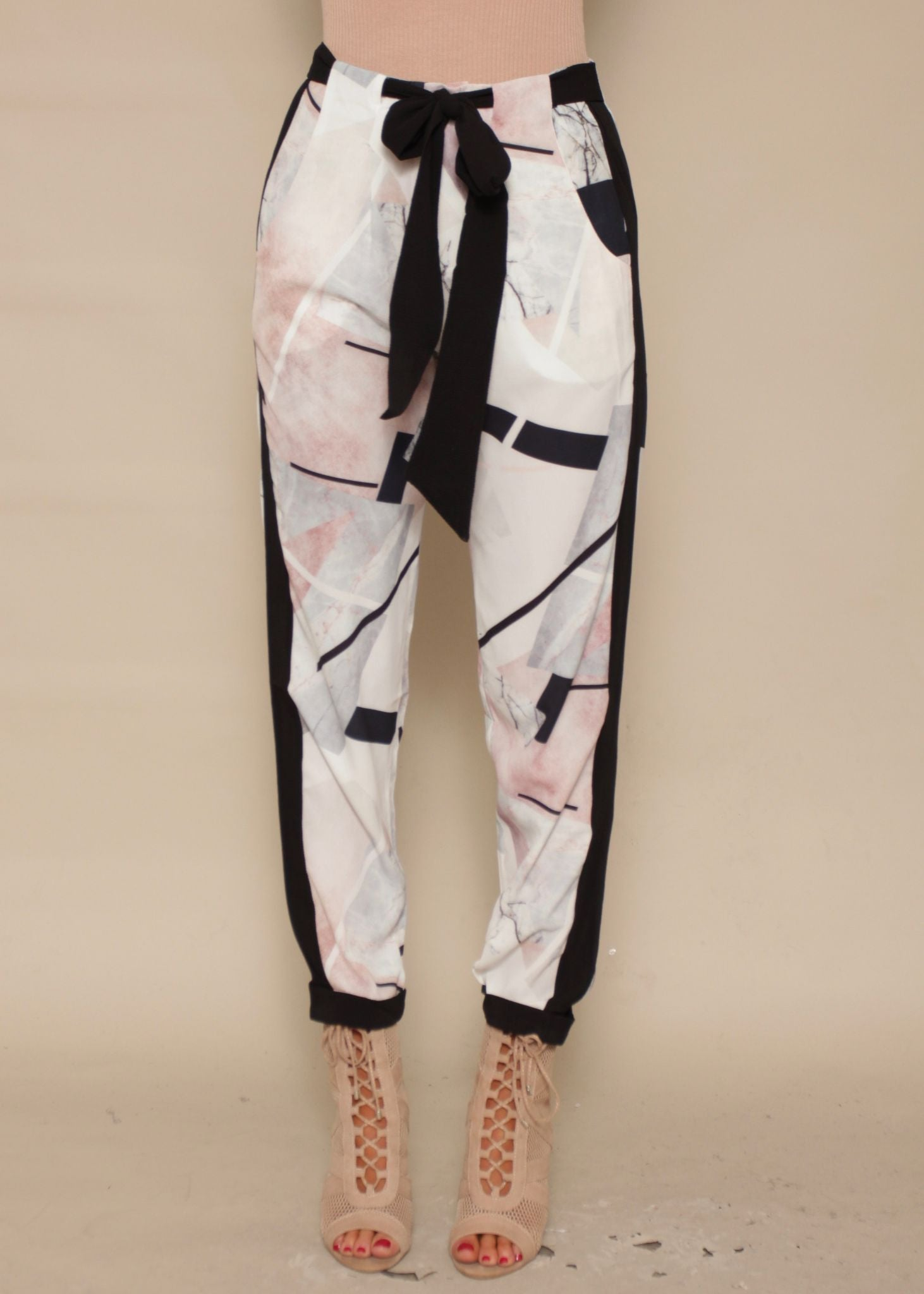 Night Star Pants - Grey Geo