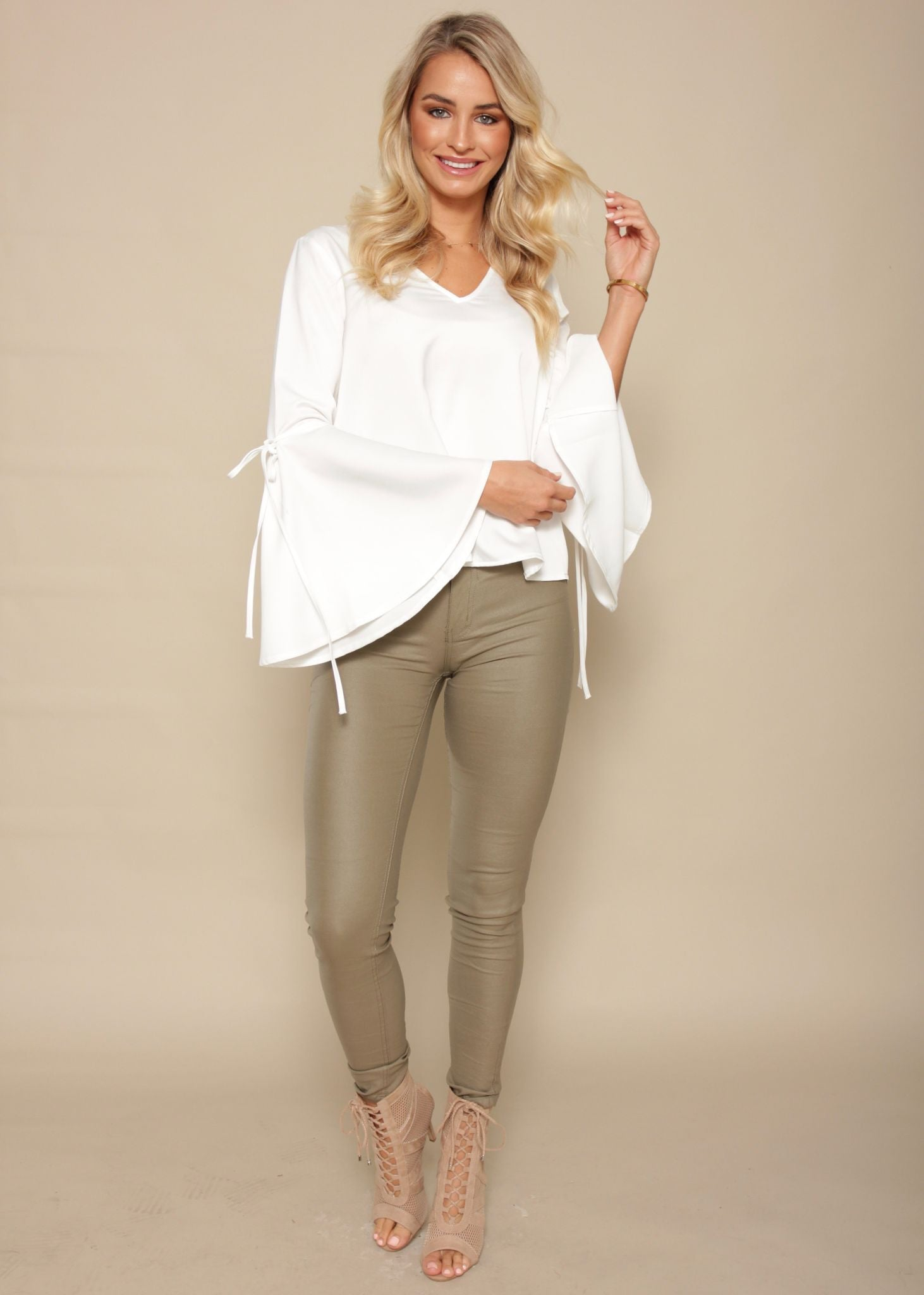 City Girl Blouse - Ivory
