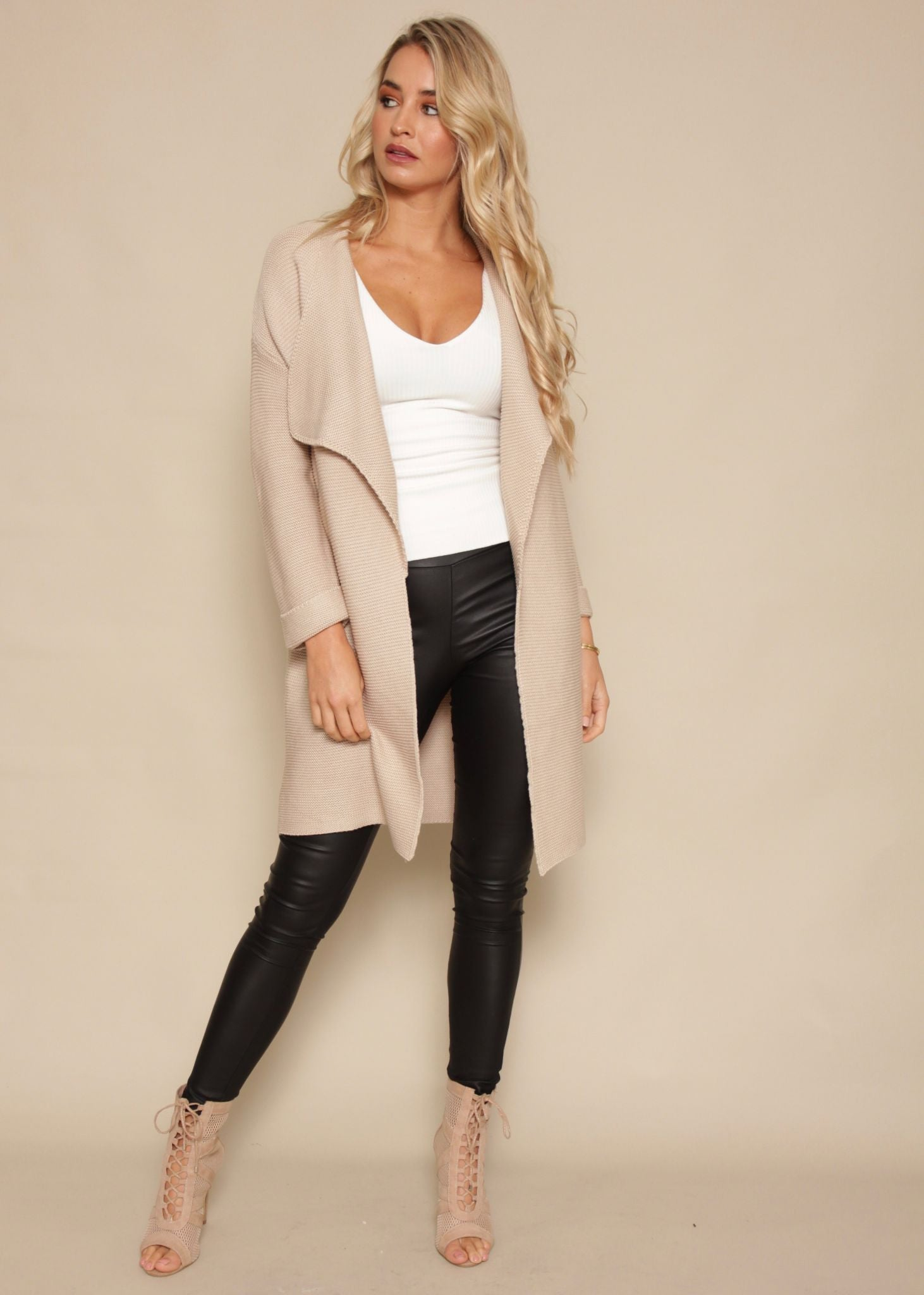 Lover Of Mine Knit Cardigan - Blush