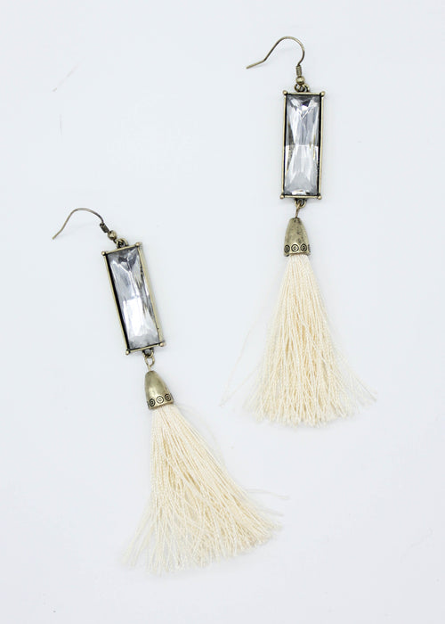 Caicos Earrings - Cream