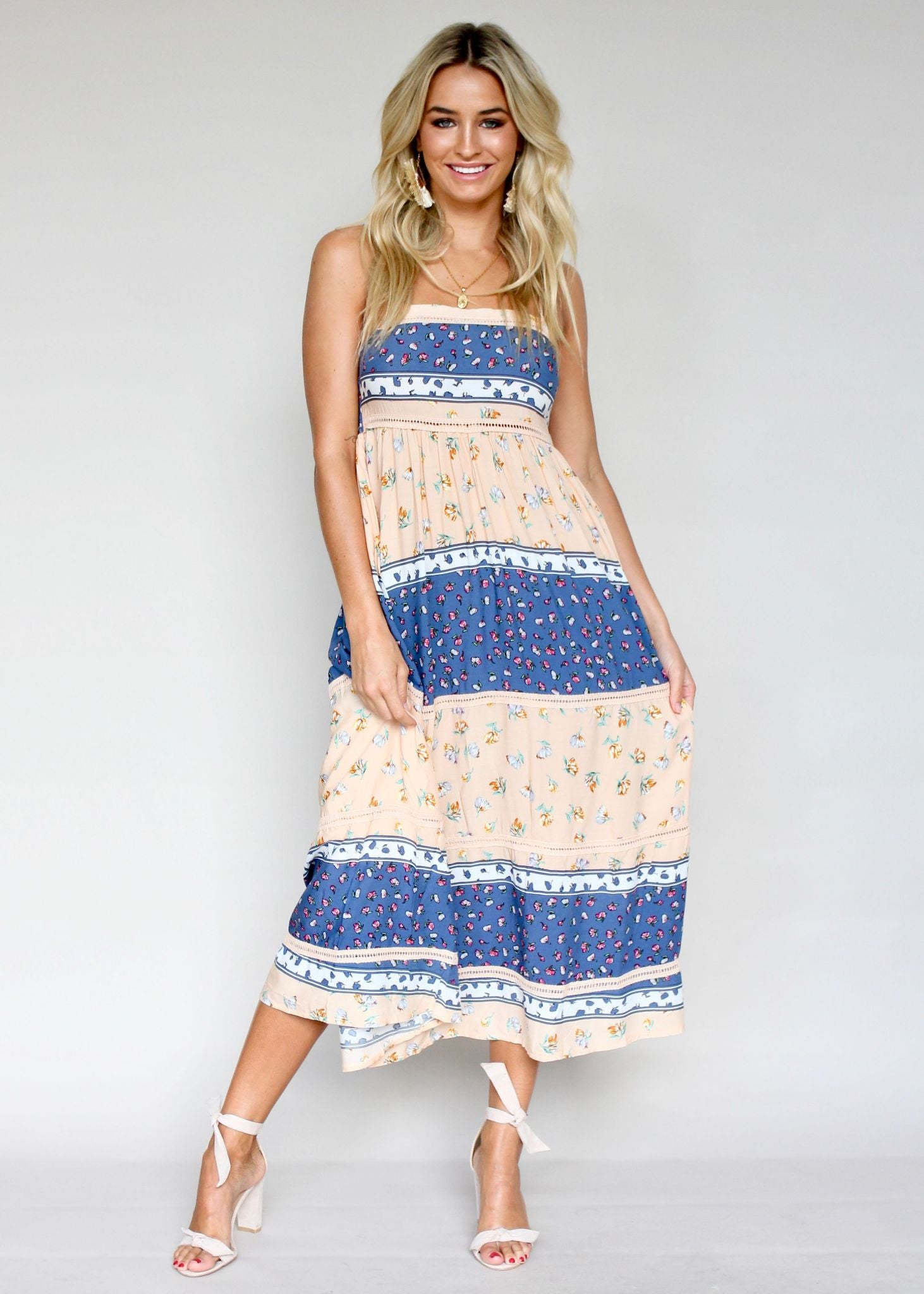 Heidi Swing Dress - Midsummer Nights