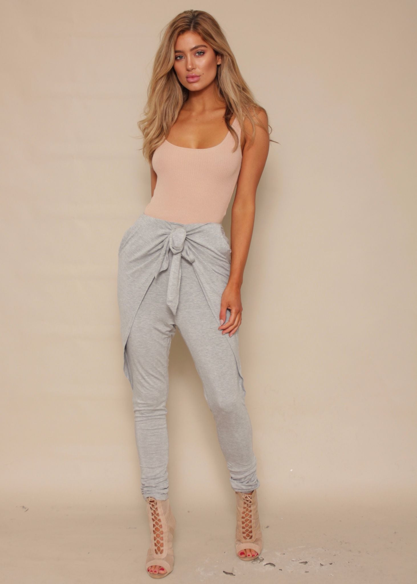 Sweet Solace Pants - Grey