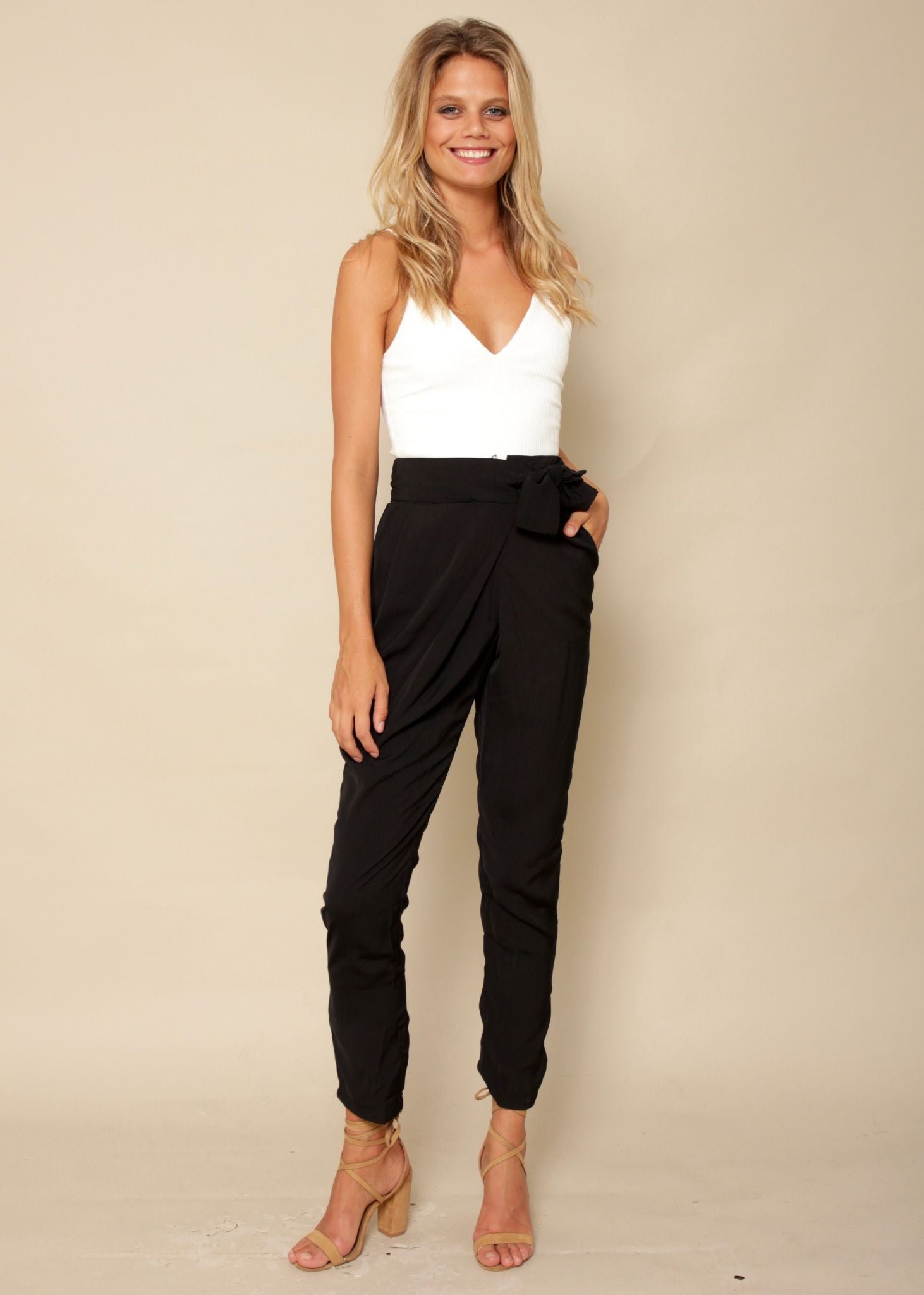 Babe Town Pants - Black