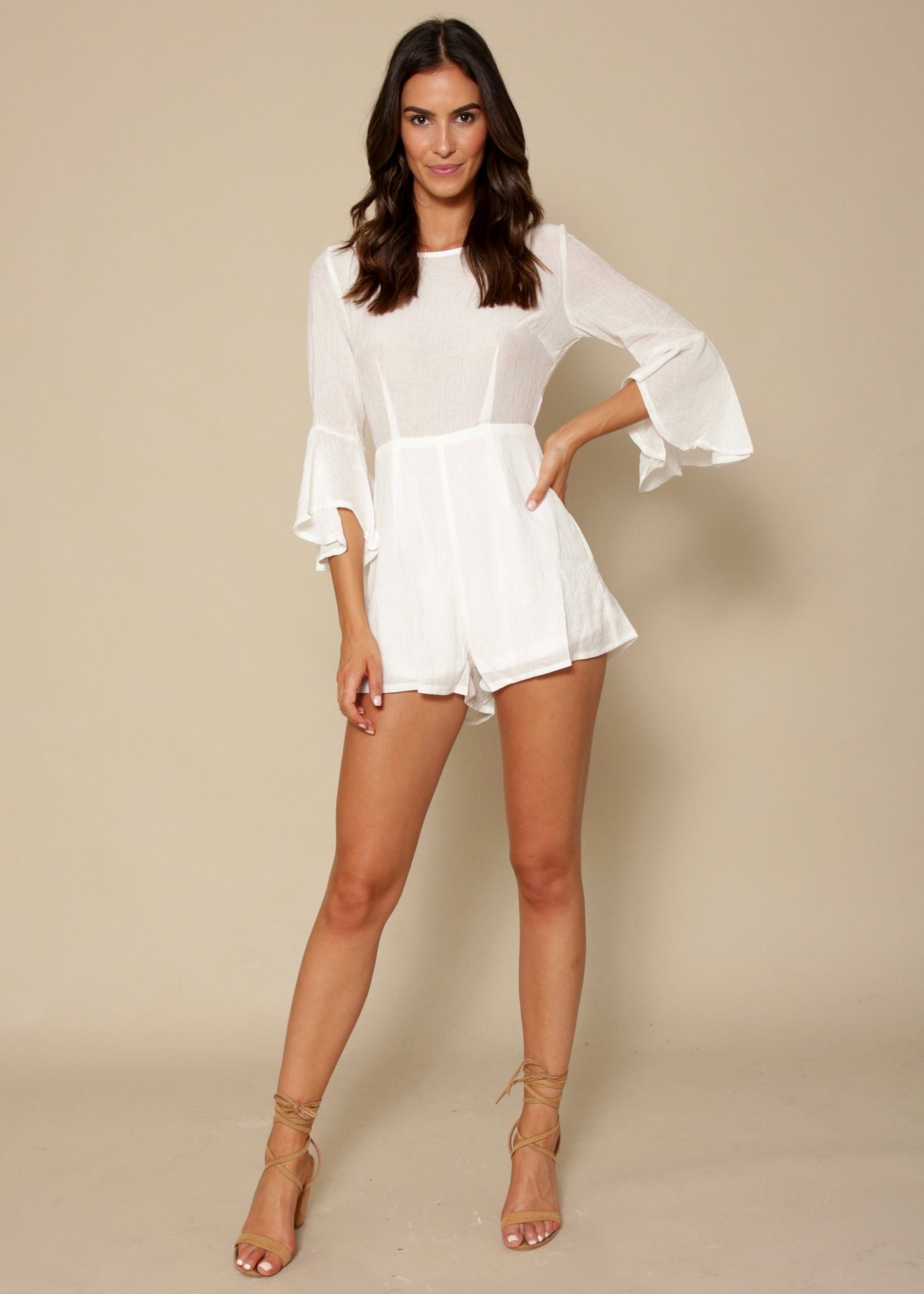 Could It Be Playsuit - Off White