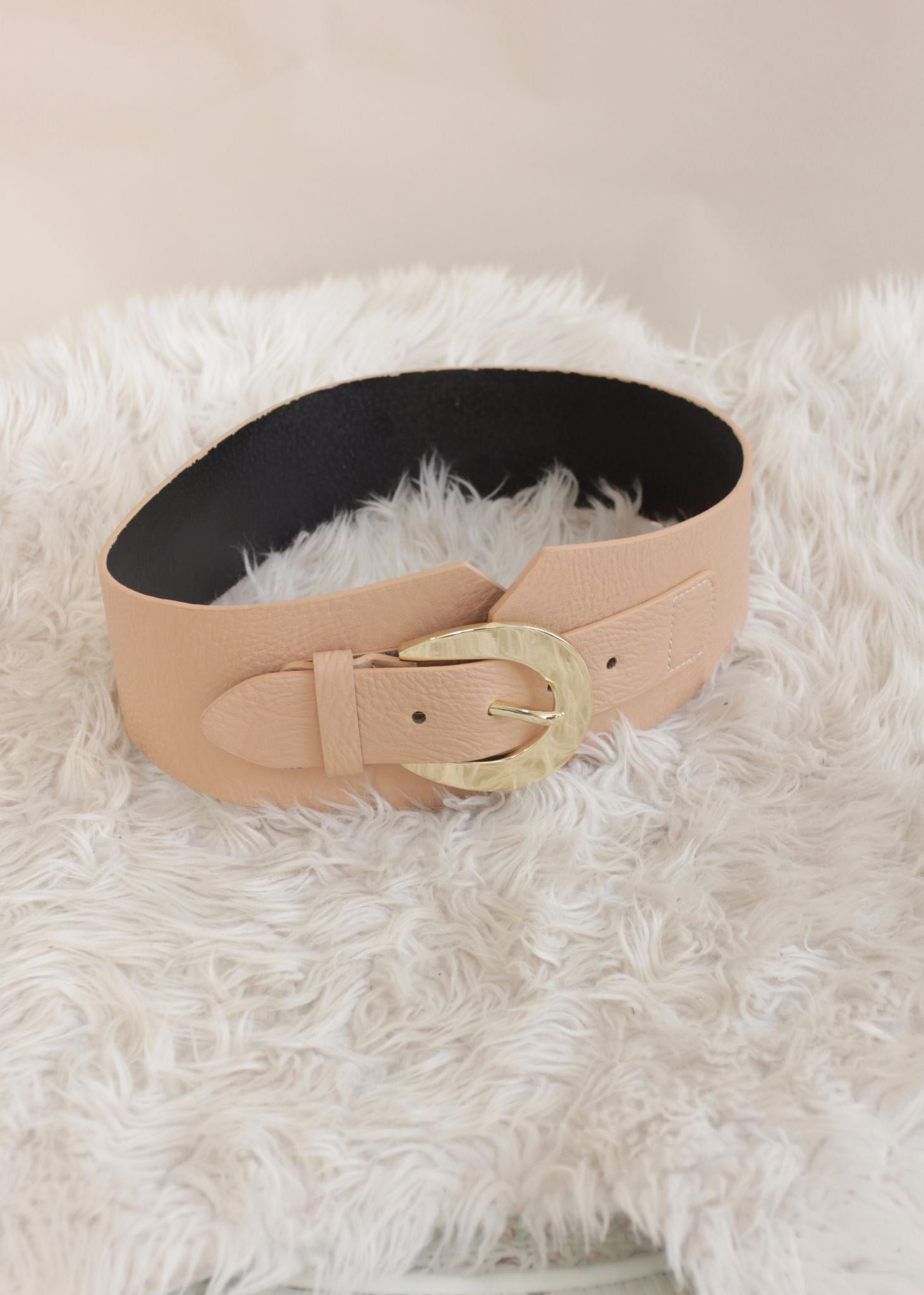 Tighten Up Belt - Nude