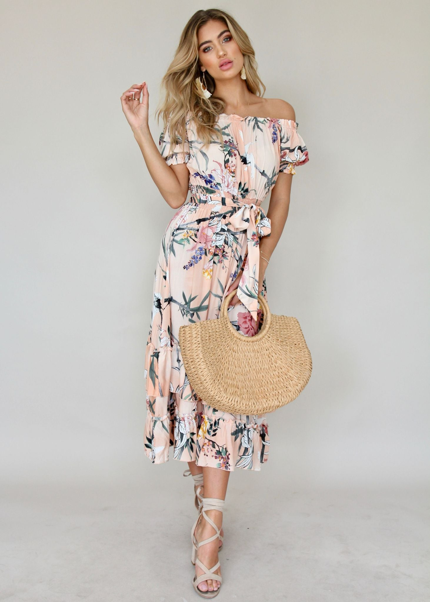 Esther Maxi Dress - Cupid