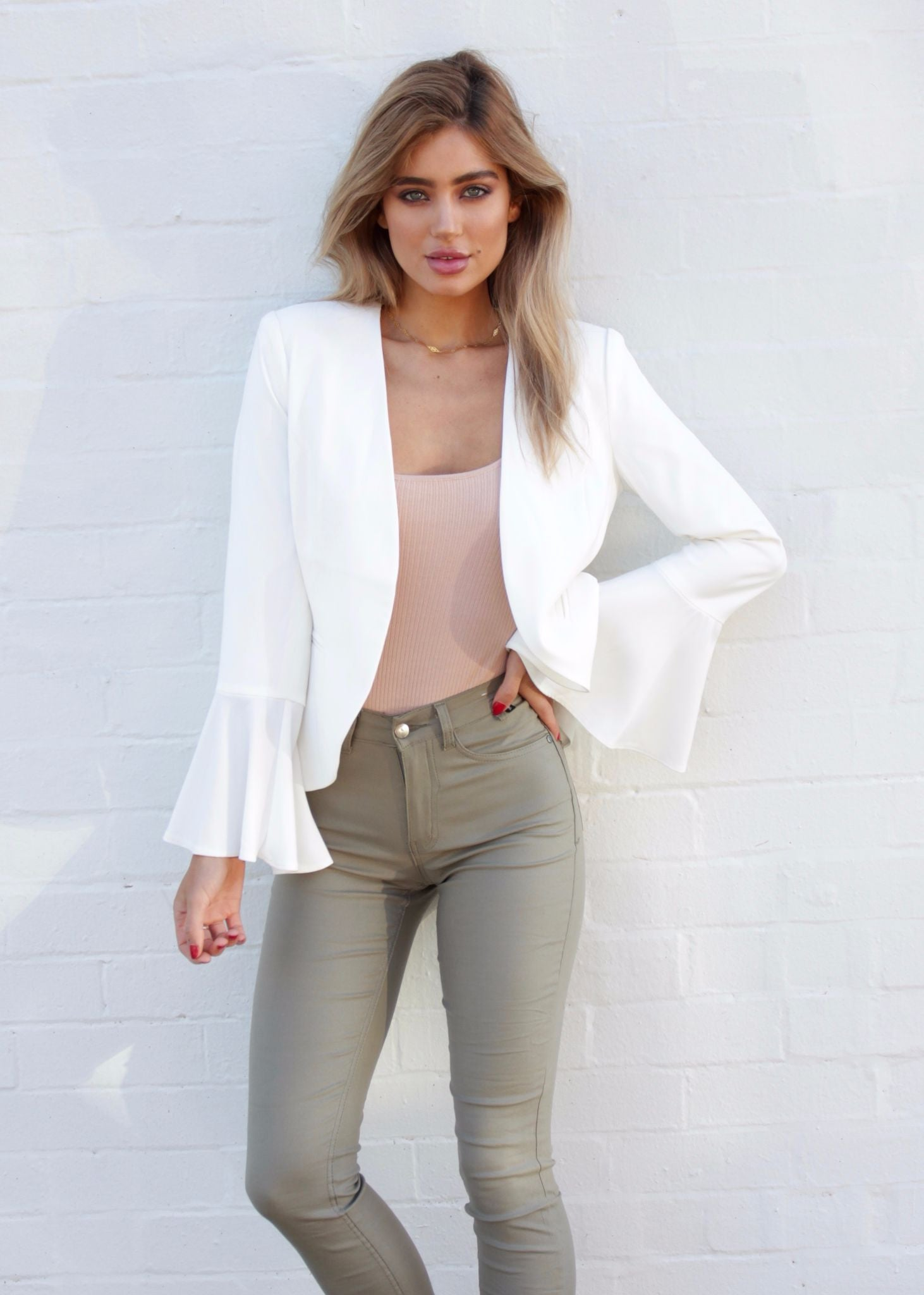 Driving Force Tailored Jacket - Ivory