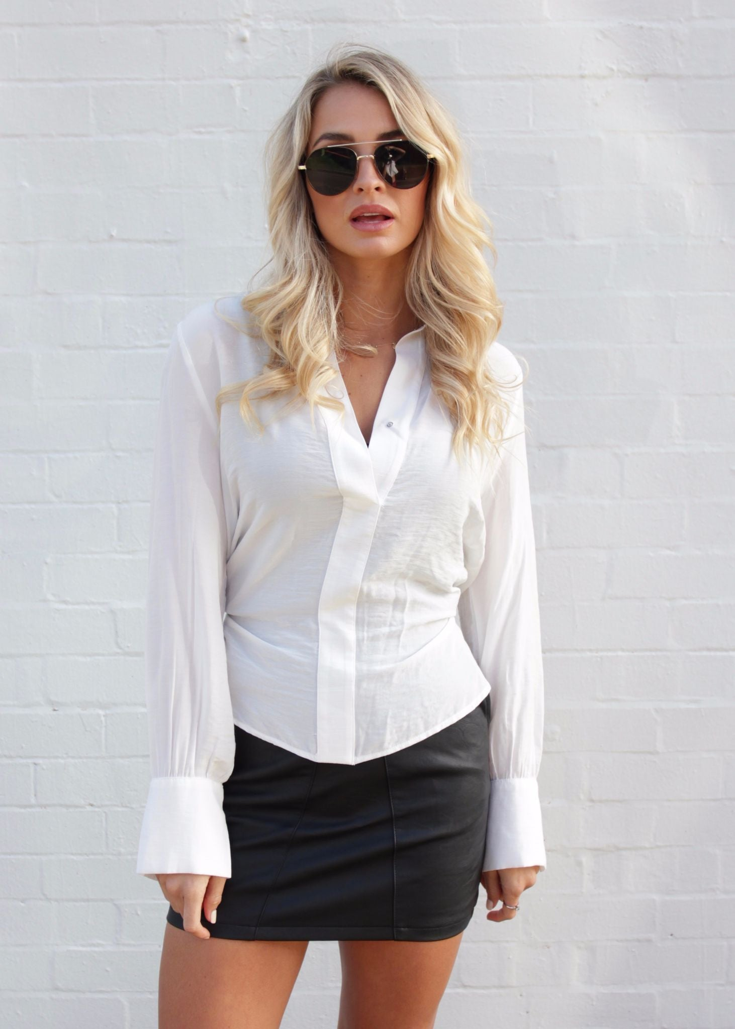 Anywhere With You Blouse - Ivory