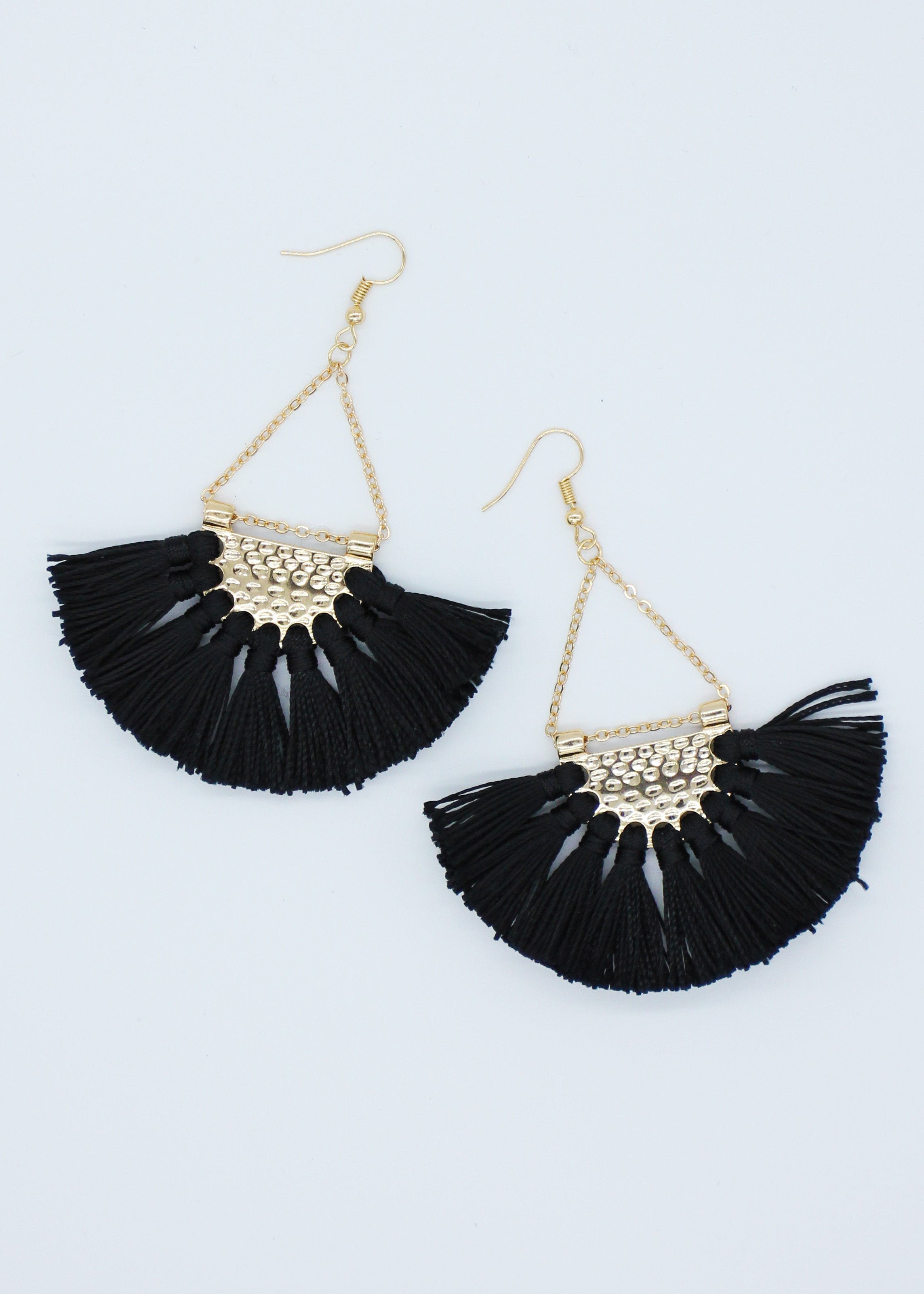 Mona Earrings - Black