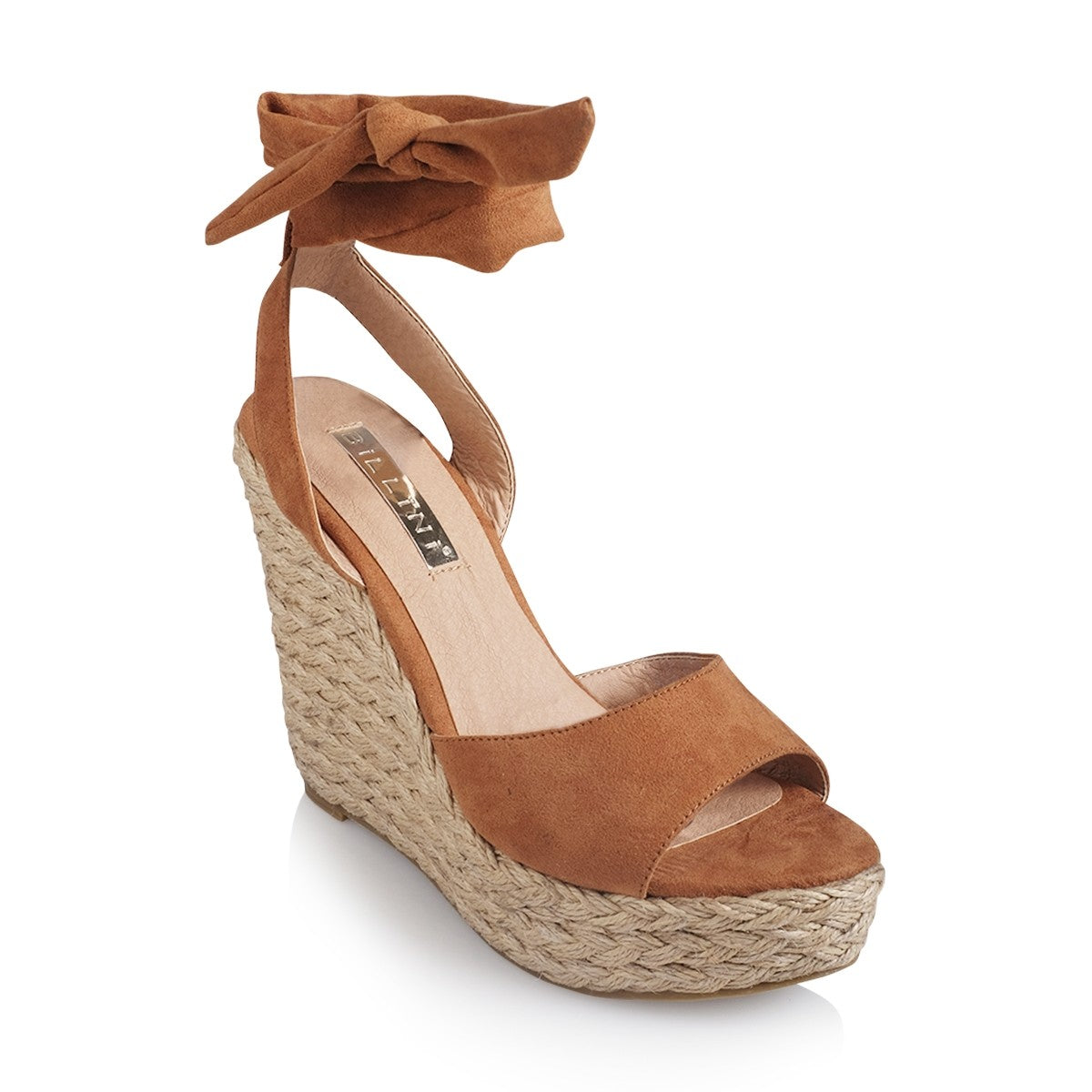 Billini - Skyros Wedge - Tan Suede