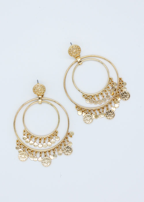 Tikki Earrings - Gold
