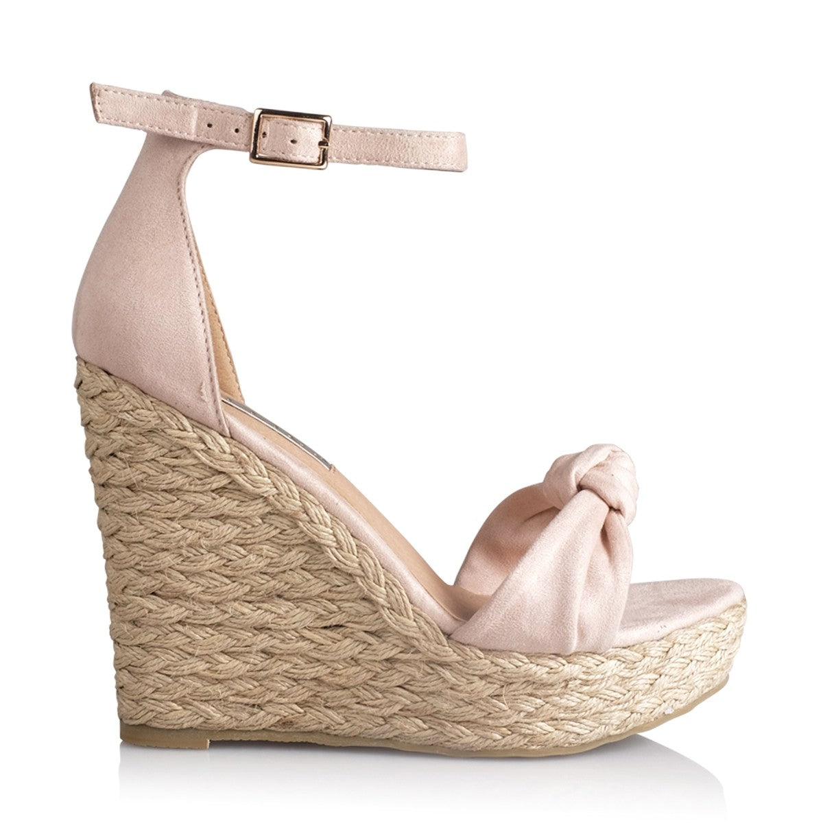 Billini - Skala Wedge - Blush Suede