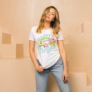 Spongebob Happy Thoughts Tee