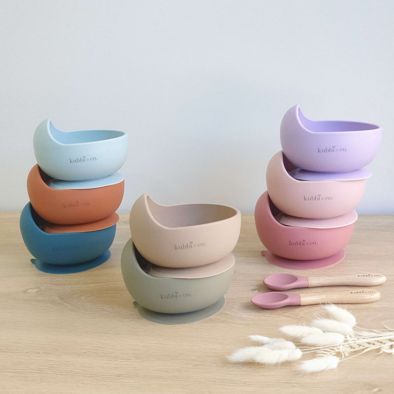 Silicone Suction Bowl Sets