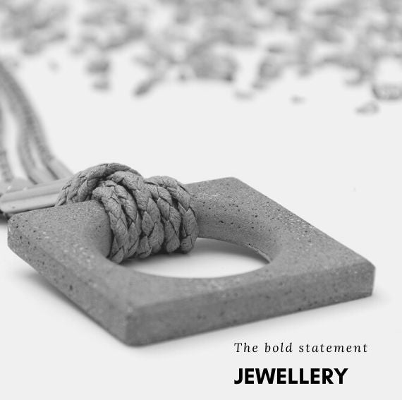 buy Concrete Jewellery online,concrete jewellery online,concrete jewelry,Cement jewellery,beton jewelry,buy jewellery online,statement pc
