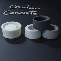 Creative Concrete's Mould for Planter & Candle vessel - CB-004