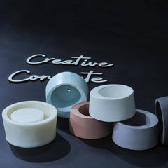 Creative Concrete's Mould for Planter & Candle vessel - CB-004-Eliteearth