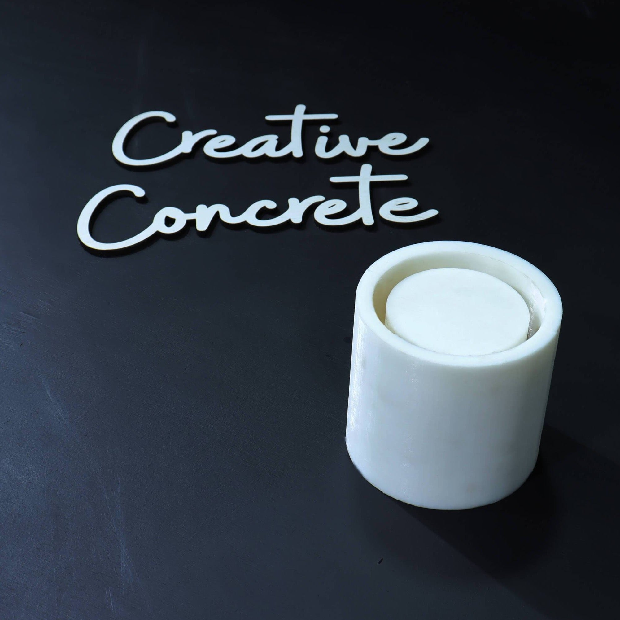 Creative Concrete's Mold for Planter or Candle vessel - CL-003-Eliteearth