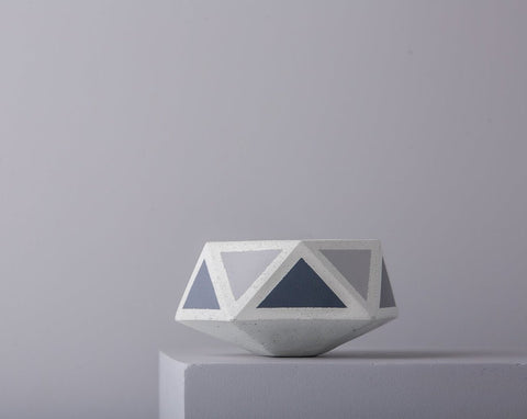 Concrete Floater Planter - Grey Invertrix Collection - Eliteearth