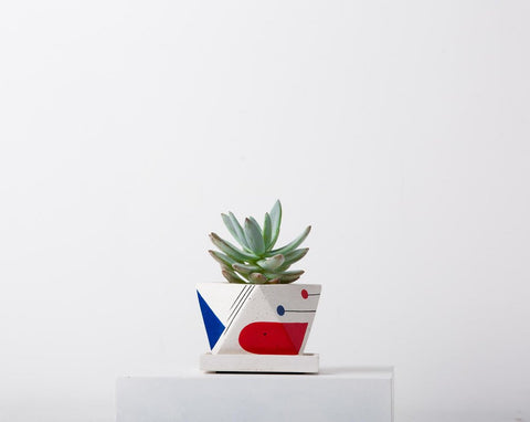 Concrete Octave Planter-Avant-Garde Collection-Eliteearth