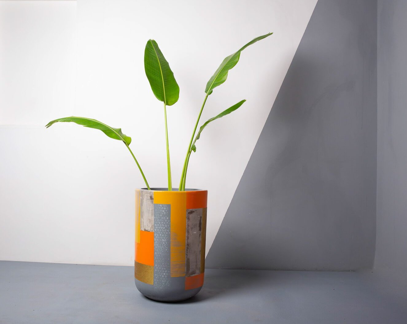 Concrete Tulip Planter - Suryaasta Collection-Eliteearth