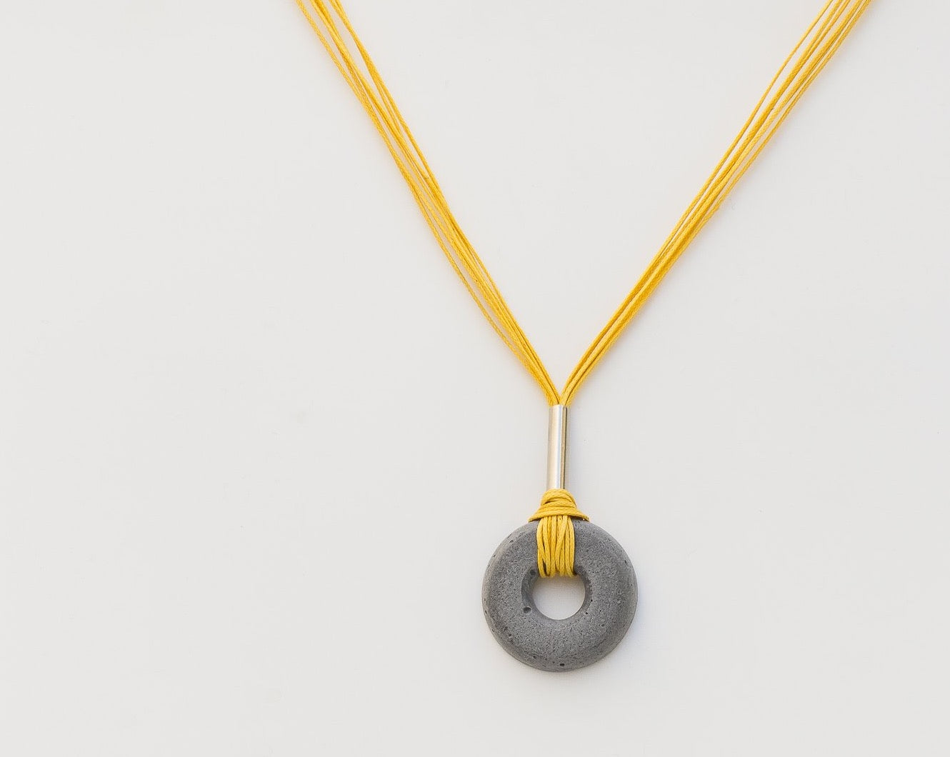 Concrete Alp Vrtt Grey Neckpiece - Aakaar Collection - Eliteearth