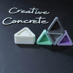 Creative Concrete's Mold for Planter or Candle vessel - TL-006-Eliteearth