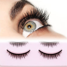 Load image into Gallery viewer, 5 Pairs New 3D Mink Popular Natural Short Cross False Eyelashes Daily Eye Lashes Girls Makeup Necessaries Eyelashes Maquiagem