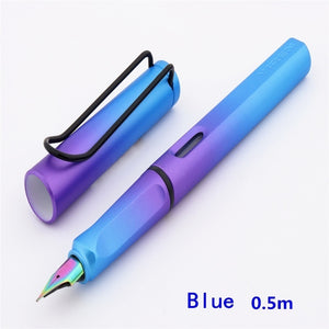 0.38/0.5 Mm Colour Art Pen Tip School Students'Writing Pen Office Stationery Pen Signature Fountain Pen