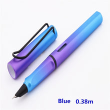 Load image into Gallery viewer, 0.38/0.5 Mm Colour Art Pen Tip School Students'Writing Pen Office Stationery Pen Signature Fountain Pen