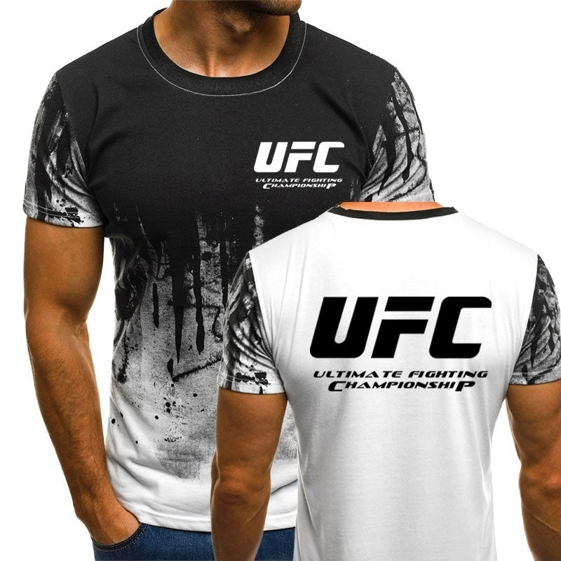 UFC Ultimate Fighting Championship MMA Gym Training Boxing Sports Men T-Shirt