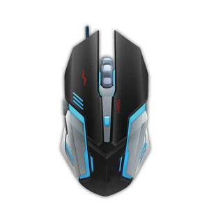 Adjustable LED Color Backlight USB Wired Gaming Keyboard Mouse(Choose what you want)